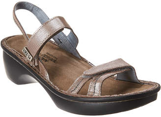 Naot Footwear Brussles Leather Wedge Sandal