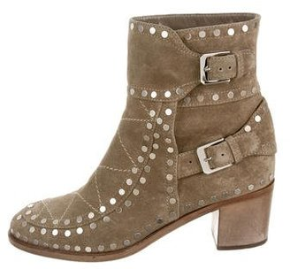 Laurence Dacade Studded Ankle Boots $300 thestylecure.com