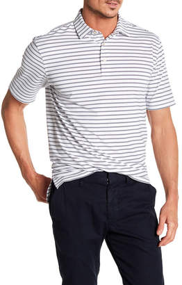 Peter Millar Pug Striped Stretch Polo