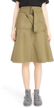 J.W.Anderson Fold Front Skirt