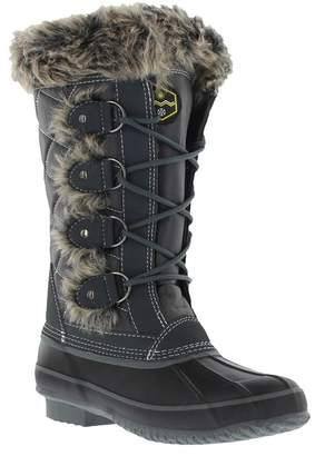Khombu Monica Waterproof Faux Fur Lined Duck Boot