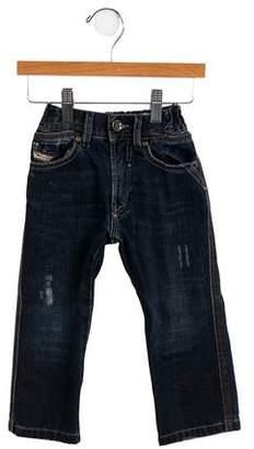 Diesel Boys' Five-Pocket Jeans