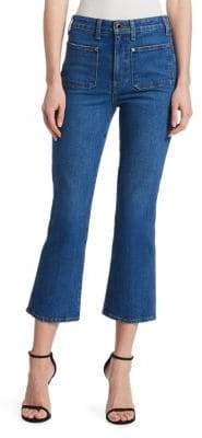 Khaite Rachel Patch Pocket Jeans