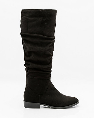 Le Château Round Toe Knee-High Slouch Boot