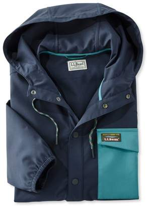 L.L. Bean L.L.Bean Hooded Wind Shirt