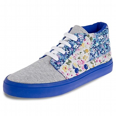 H! by Henry Holland Purple floral high tops