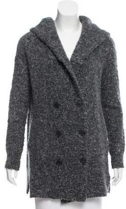 Theory Wool Hooded Coat