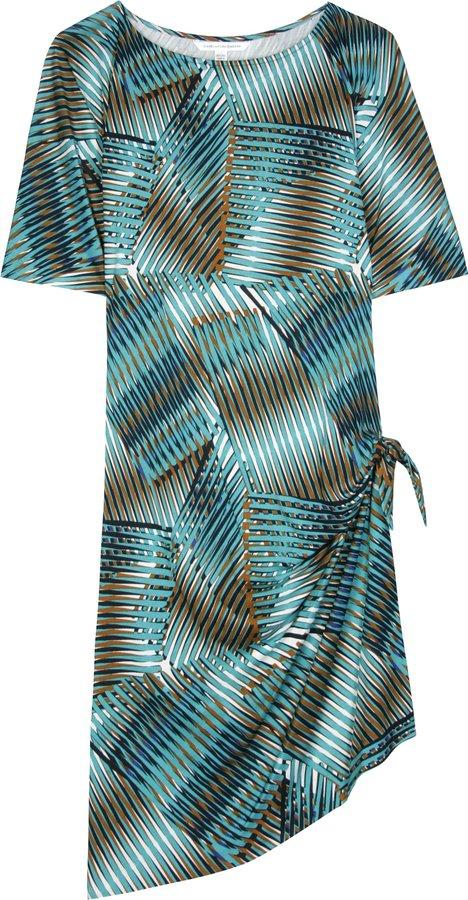 Diane Von Furstenberg Hesta Silk Jersey Dress