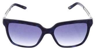 Chopard Jewel-Embellished Oversize Sunglasses w/ Tags