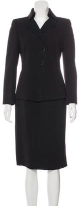 Akris Wool Knit Skirt Suit. $145 thestylecure.com