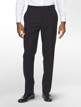 Calvin Klein slim black stripe suit pants