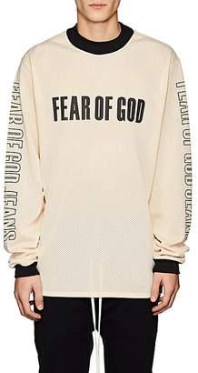 Fear Of God Men's Motocross-Inspired Mesh Oversized Shirt