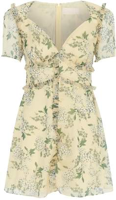 Keepsake The Label Luscious Floral Print Dress