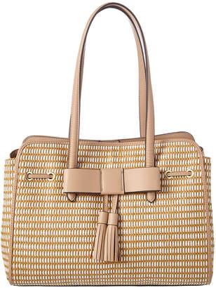 Nanette Lepore Arabelle Straw Shoulder Bag