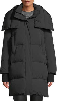 Derek Lam 10 Crosby Long Oversized Down-Fill Parka