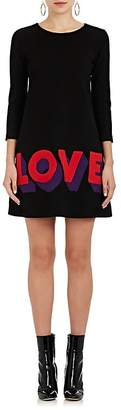 "Lisa Perry Women's ""Love"" Wool Shift Dress"