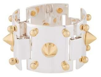 Eddie Borgo Wide Cone Link Bracelet