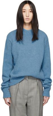 Tibi Blue Alpaca Cozette Easy Sweater