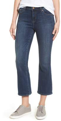 Vince Camuto Cropped Flare Jeans