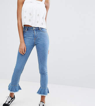 Monki Flare Hem Jeans