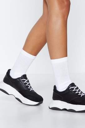 Nasty Gal Socks to Be You Ribbed Socks