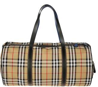 Burberry Medium Kennedy Vintage Check Duffel Bag