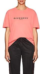 Givenchy Women's Logo Cotton Jersey T-Shirt - Pink