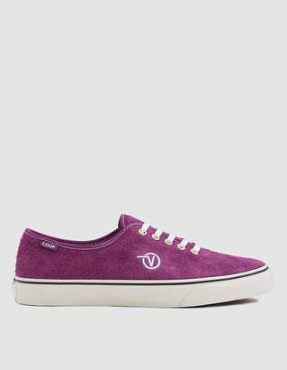 Vans Vault By LQQK Authentic One Sneaker in Grape Juice/Translucent Gum