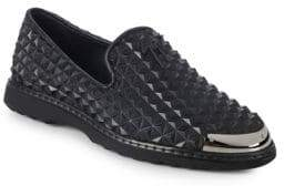 Giuseppe Zanotti Embossed Slip-On Loafers