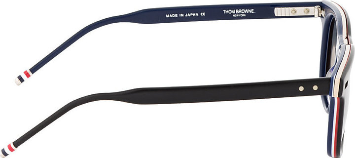 Thom Browne Black Matte Sunglasses