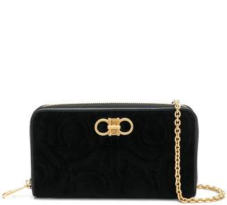 Salvatore Ferragamo square shaped clutch