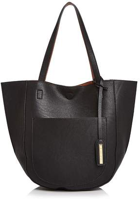 Street Level Rounded Bottom Reversible Tote