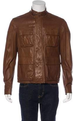 Ralph Lauren Purple Label Leather M-65 Field Jacket