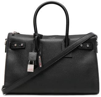 Saint Laurent Small Zipped Supple Sac de Jour Duffel Bag in Black | FWRD