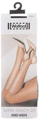 Wolford Satin Touch 20 Knee-Highs w/ Tags
