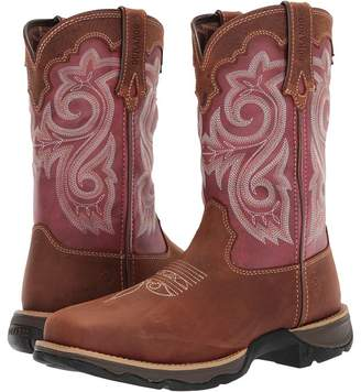 Durango Lady Rebel 10 WP Composite Square Toe Cowboy Boots