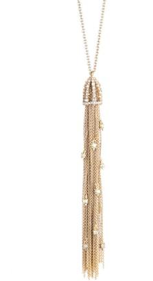 Alexis Bittar Essentials Cascading Crystal Tassel Necklace