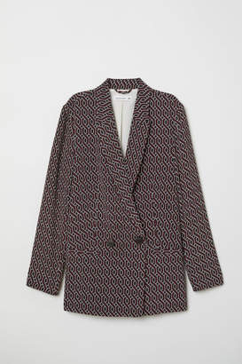 H&M Patterned Jacket - Red