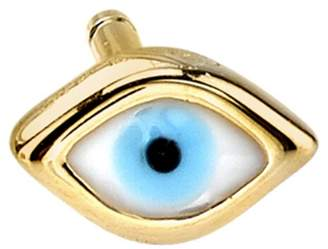 Sydney Evan Mini Enamel Evil Eye Stud Earring