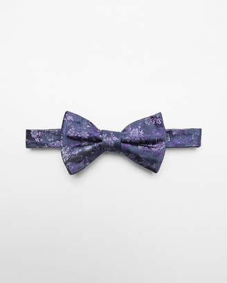 Express Floral Silk Bow Tie