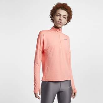 Nike Dri-FIT Element Women's Long Sleeve Running Half-Zip Top
