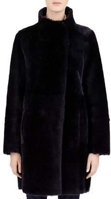 Gerard Darel Milo Real Sheep Shearling Coat