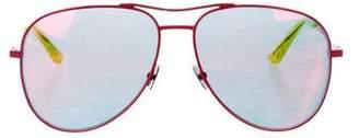 Saint Laurent Mirror Aviator Sunglasses