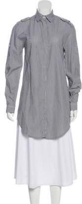 Pierre Balmain Stripe Long Sleeve Top