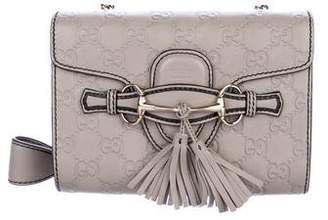 Gucci Guccissima Mini Emily Crossbody Bag