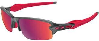 Oakley Men's Flak 2.0 Asian Fit OO9271-03 Rectangular Sunglasses