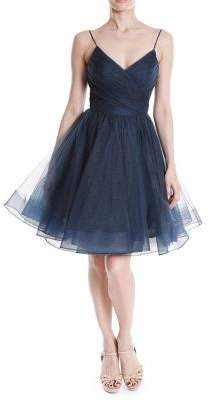 Terani Couture Glamour by Sweetheart Tulle Fit-&-Flare Dress