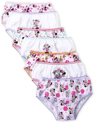 Disney Girls 4-6x) 7-Pack Minnie Panties