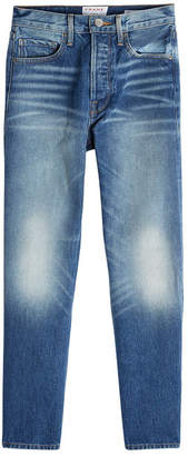 Frame Rigid Re-Release Le Original Cropped Straight Leg Jeans