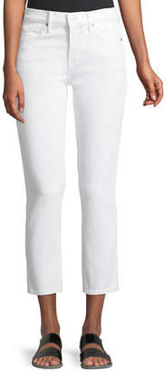 Vince Skinny Crop Straight-Leg Jeans